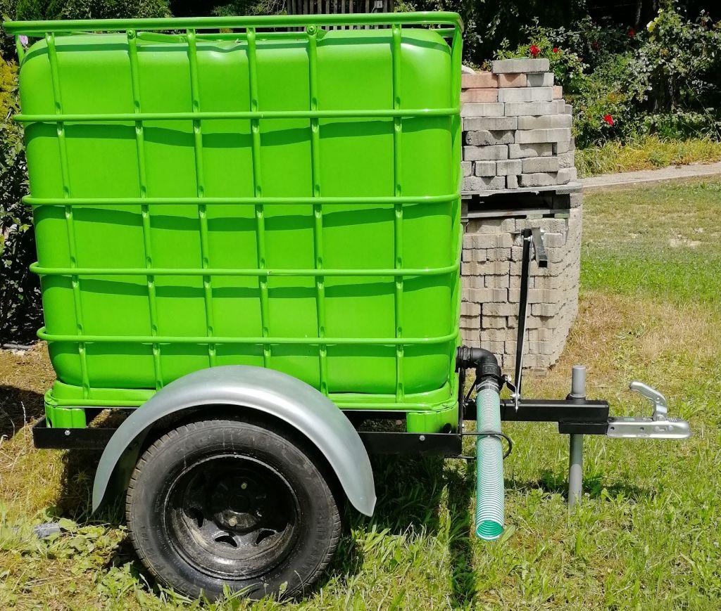 IBC speciál vizeskocsi - AgroSat.hu